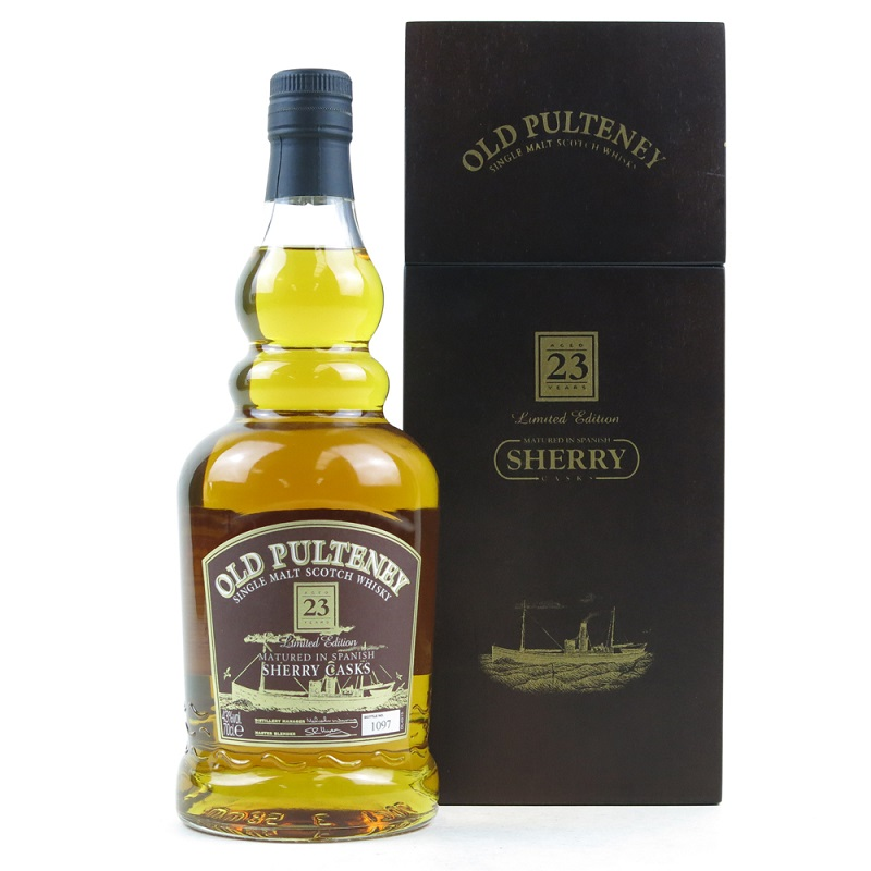 Old Pulteney Sherry Cask 23 Years Old Single Malt Scotch Whisky