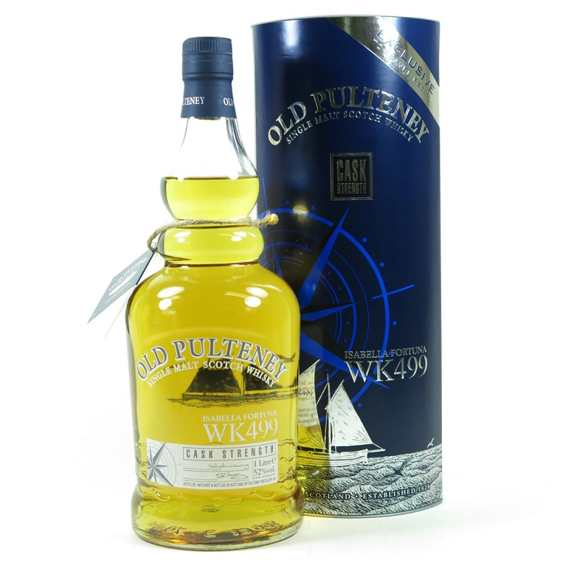 Old Pulteney Scotch Whisky - WK499 The Isabella Fortuna 1l