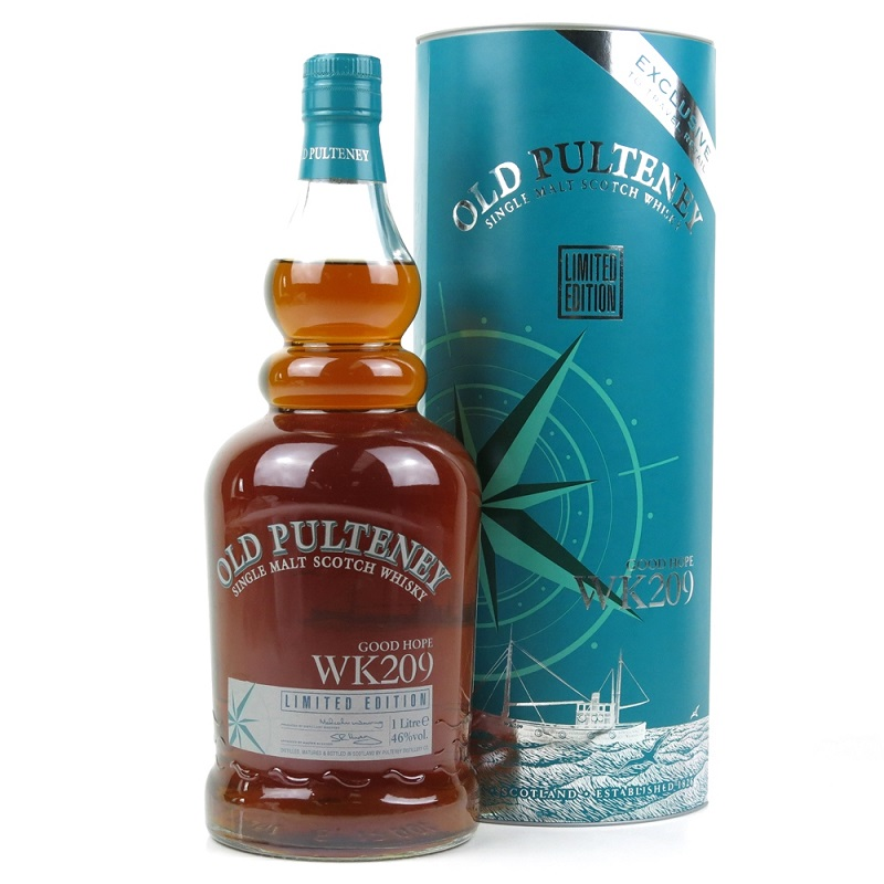 Old Pulteney Good Hope WK209 Scotch Whisky 1l