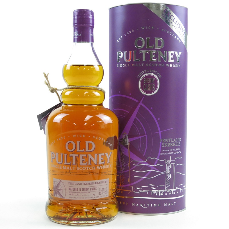 Old Pulteney Pentland Skerries Lighthouse Whisky 1l