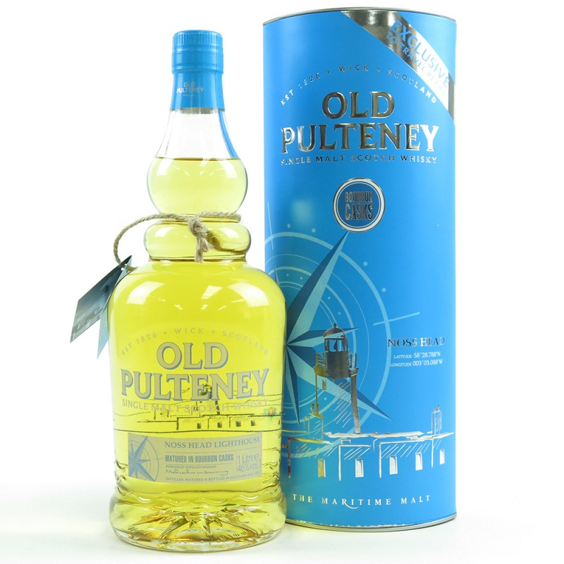 Old Pulteney Noss Head whisky 1l