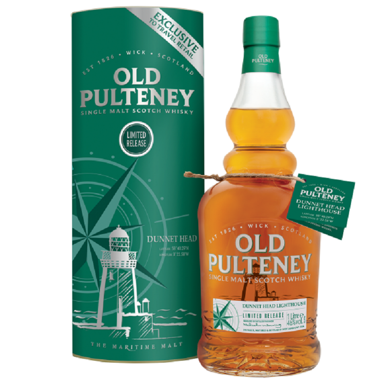Old Pulteney Dunnet Head Whisky 1l