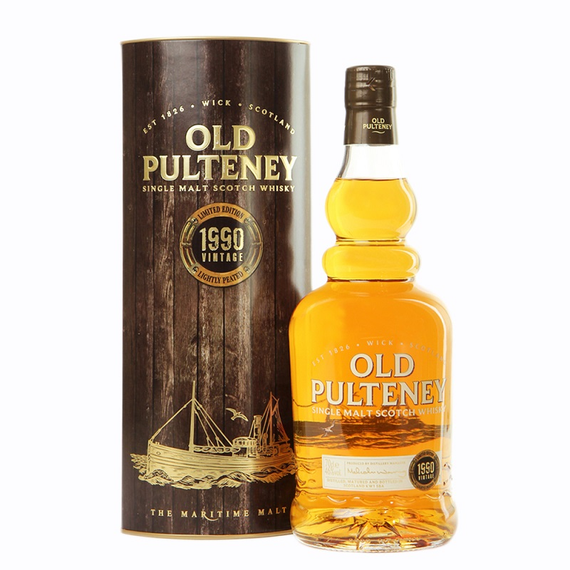 Old Pulteney 1990 Vintage Edition Scotch whisky