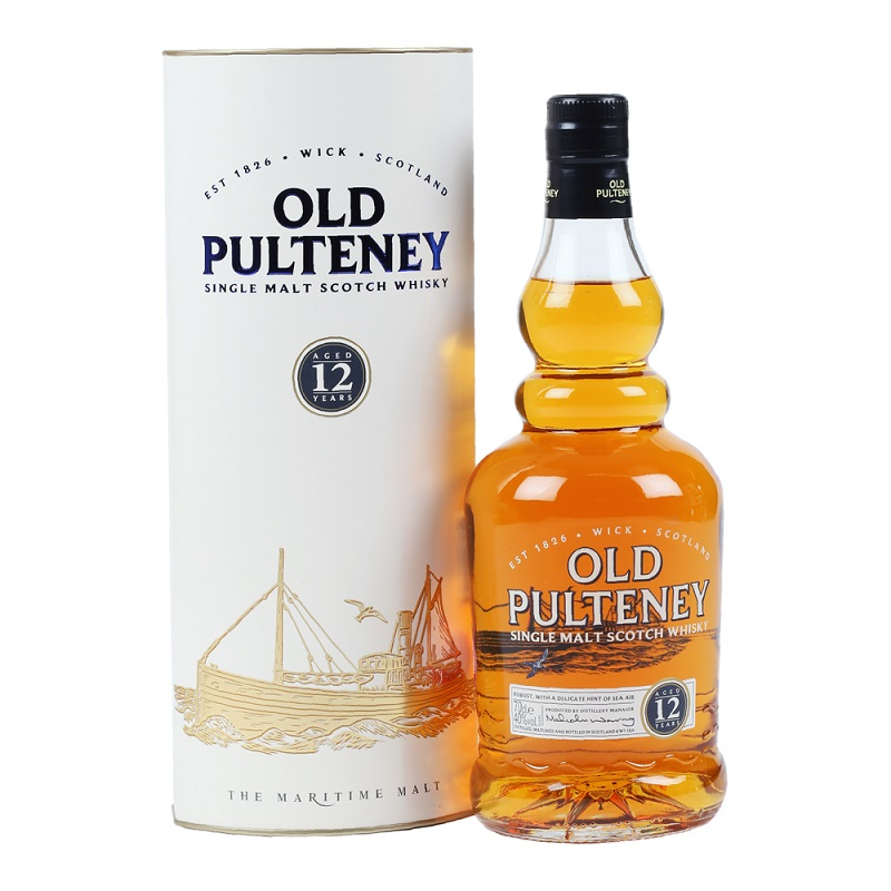 Old Pulteney 12 yo whisky 1l