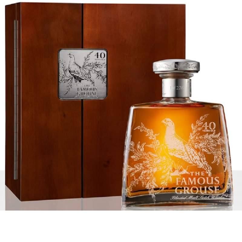 Whisky Famous Grouse 40 Year Old Decanter