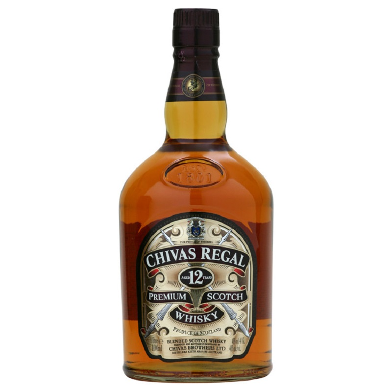 Chivas Regal 12 Year Old Whisky 1l