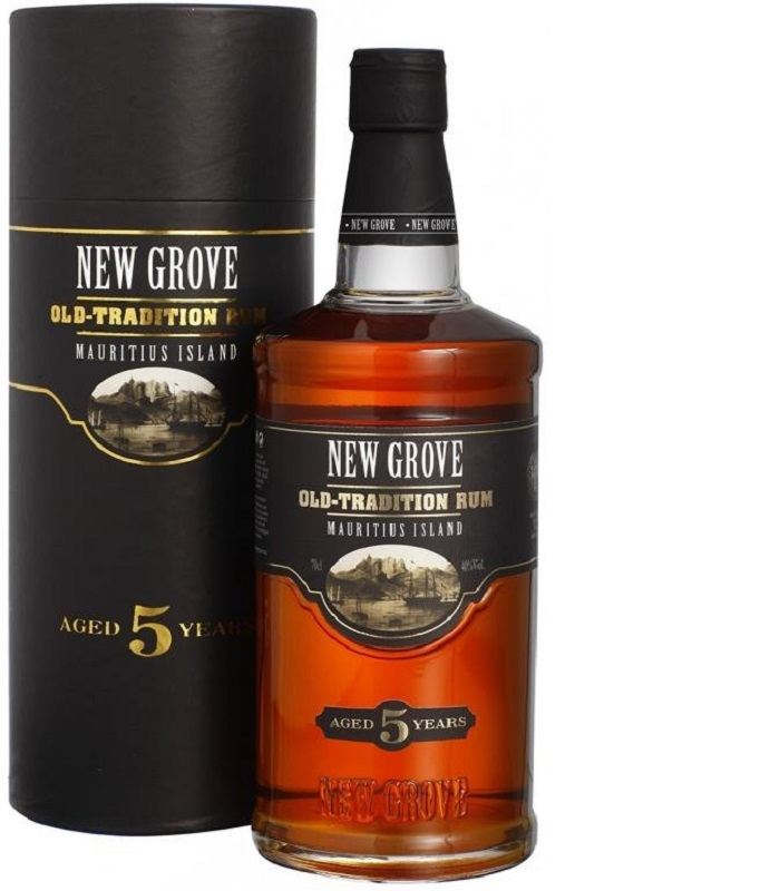 New Grove Old Tradition 5 Years Old Mauritius Island rum