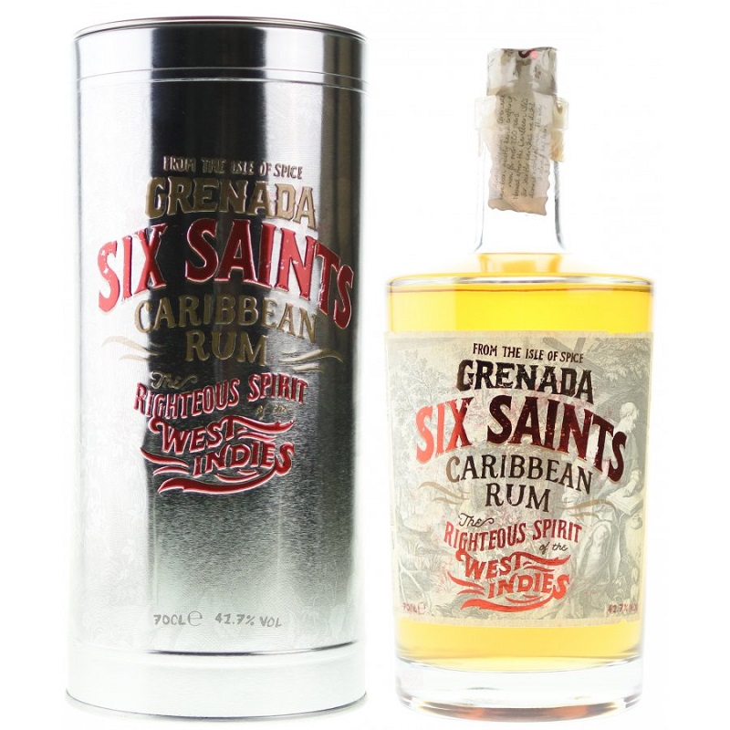 Six Saints Carribean rum 0,7