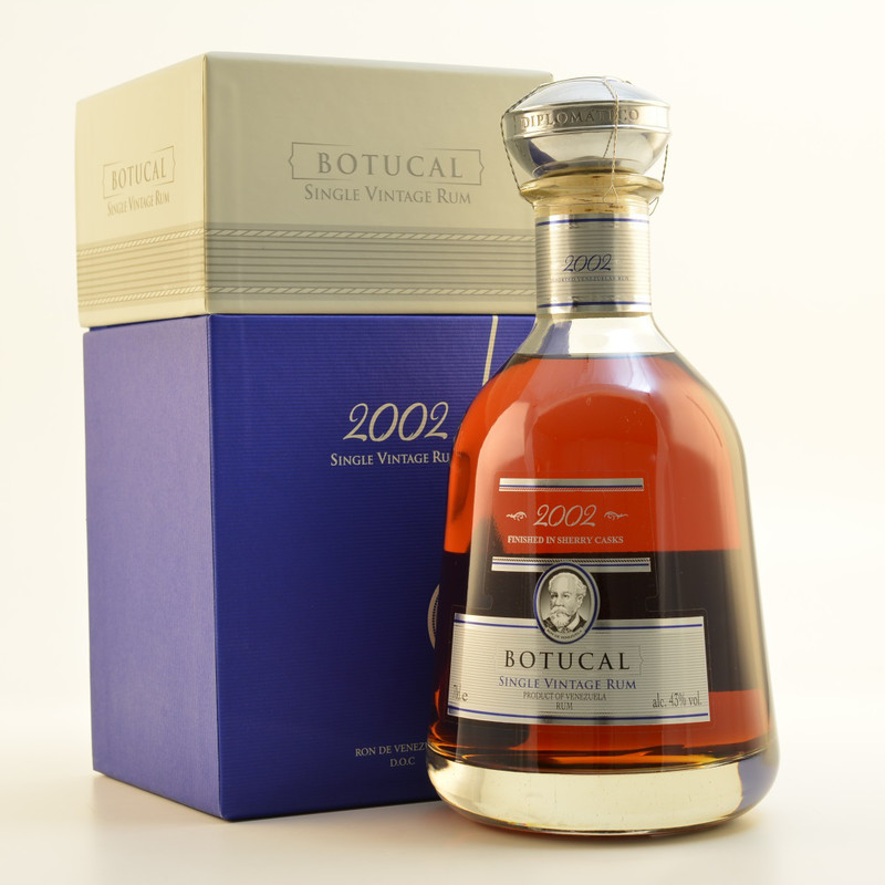 Botucal Single Vintage 2002 rum