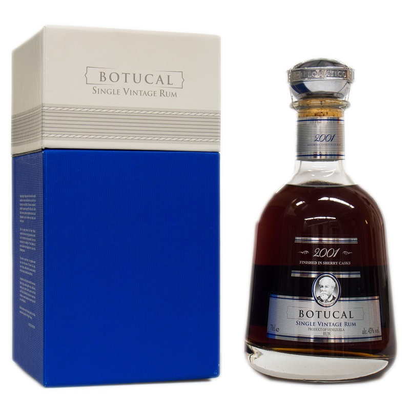 Botucal Single Vintage 2001 rum