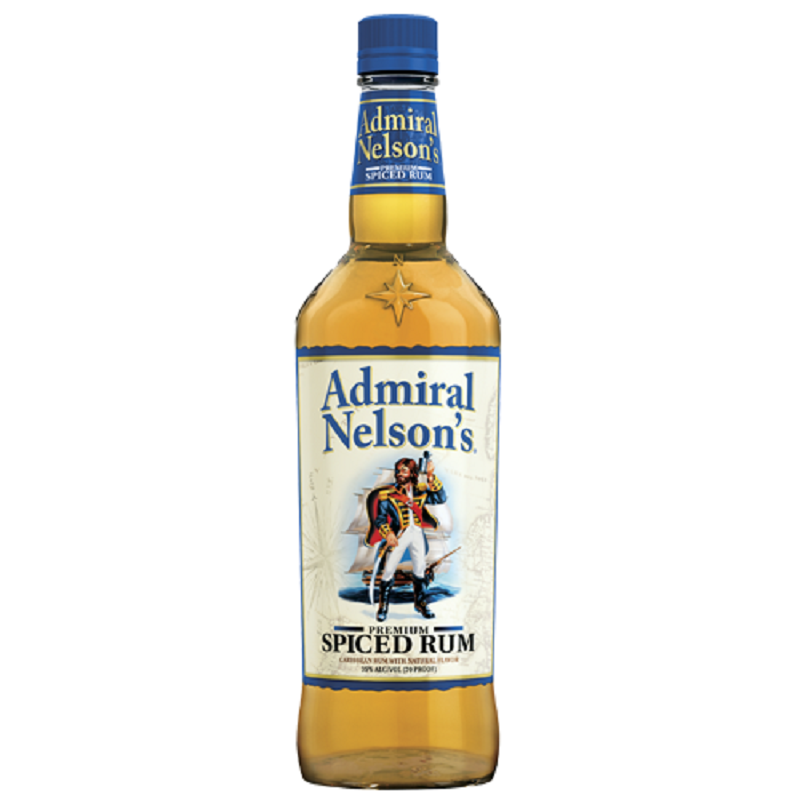 Admiral Nelson´s Spiced Caribbean rum 1 l
