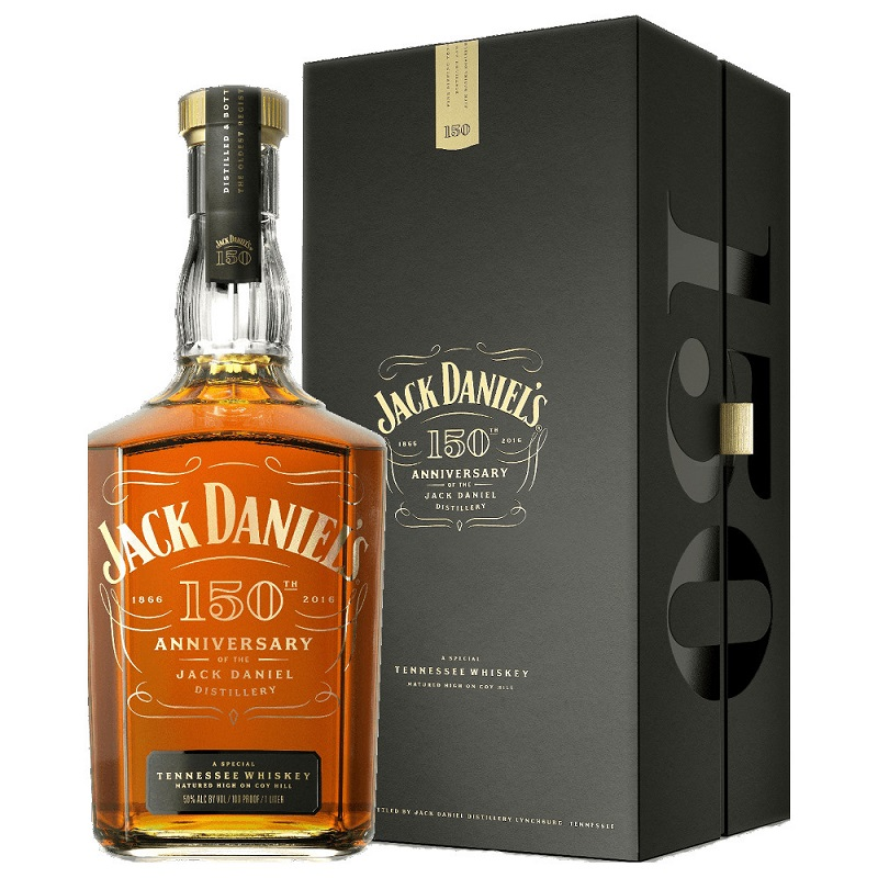 Jack Daniel's 150th Anniversary Limited Edition Tennessee Whiskey 0,7