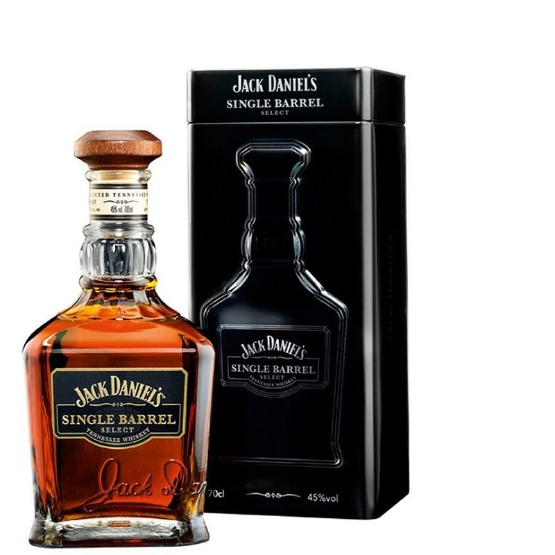 Jack Daniel's Single Barrel 45% Select Gift Pack whiskey 0,7