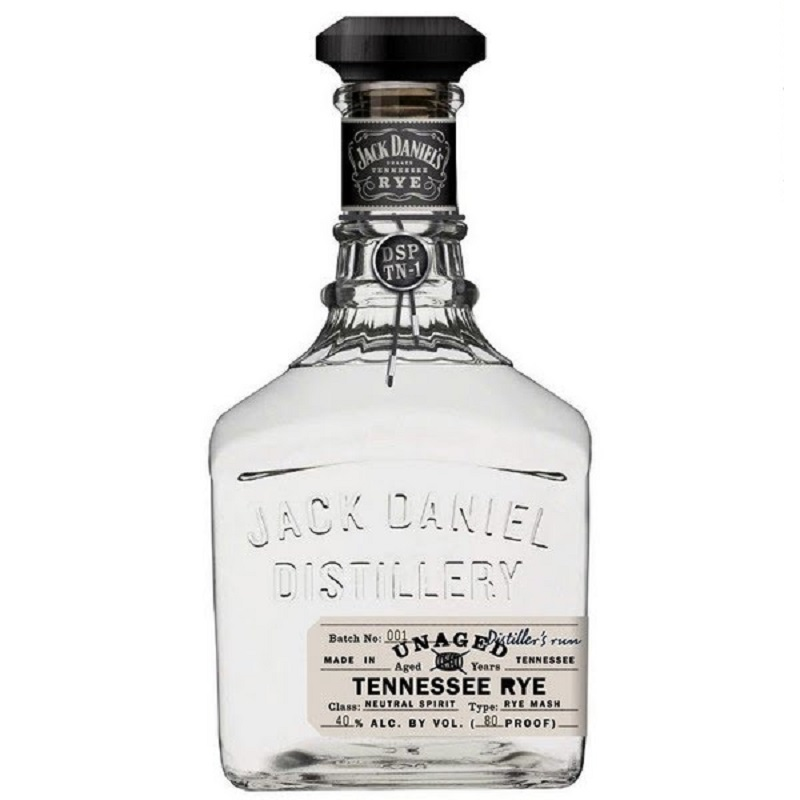 Jack Daniel's Unaged Rye Whiskey, Tennessee