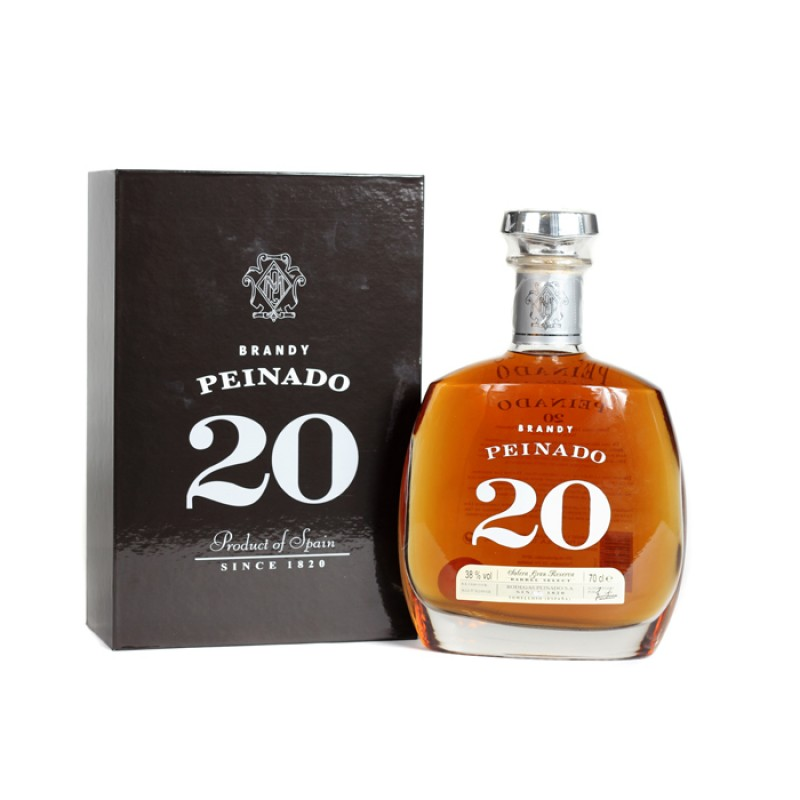Peinado Solera Grand Reserva 20 Years Old Brandy 0,7