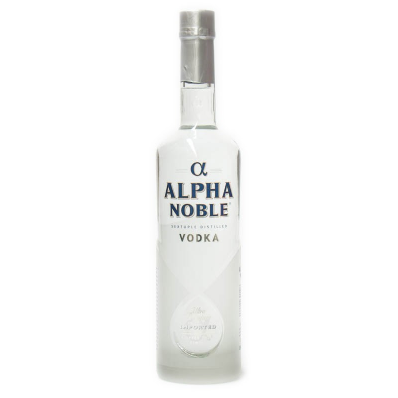 Alpha Noble vodka 1 litr