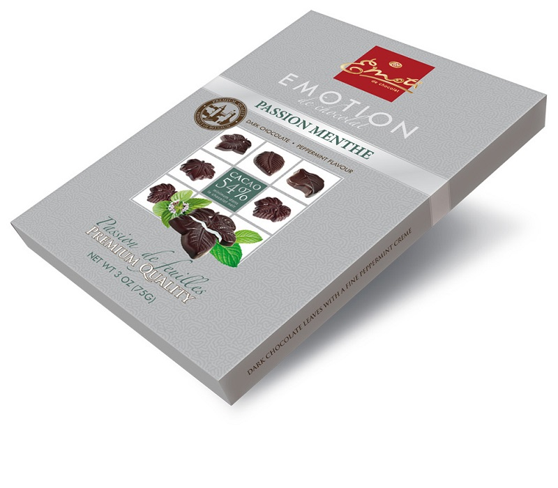 Emoti Emotion Passion Menthe Dark Chocolates 75g