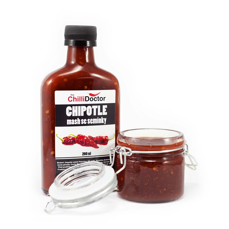 The Chilli Chipotle mash se semínky 200ml