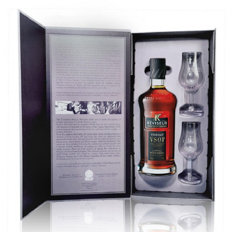 Réviseur VS Glass Gift Set Cognac 0,7
