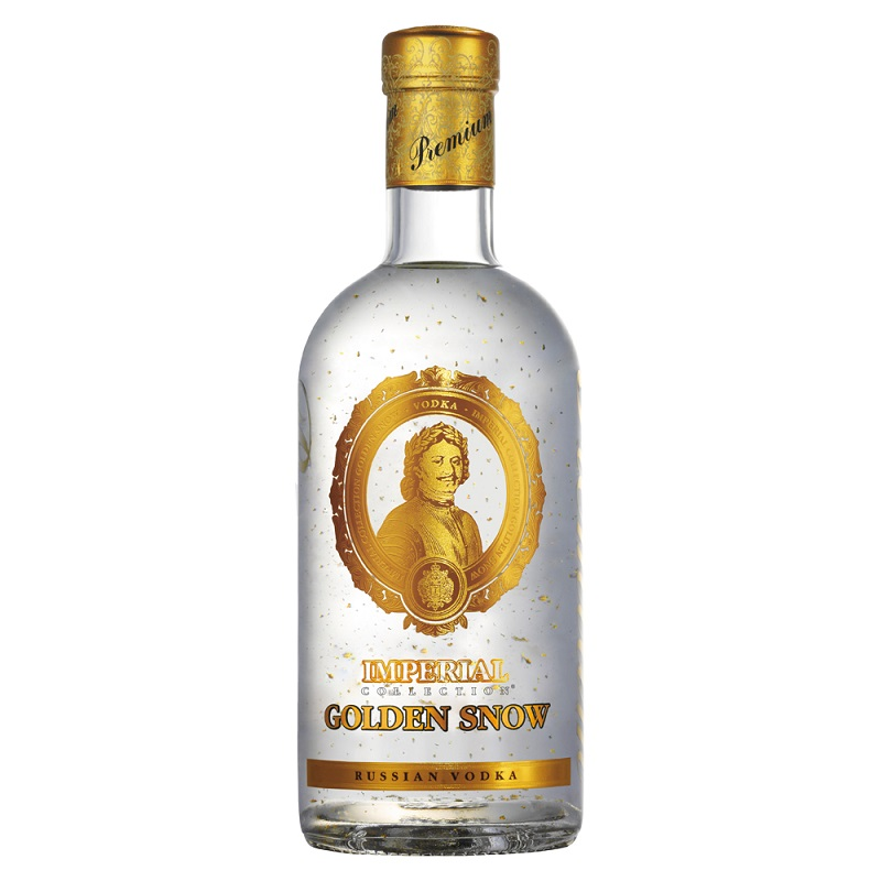 Imperial Collection Golden Snow Vodka 0,7