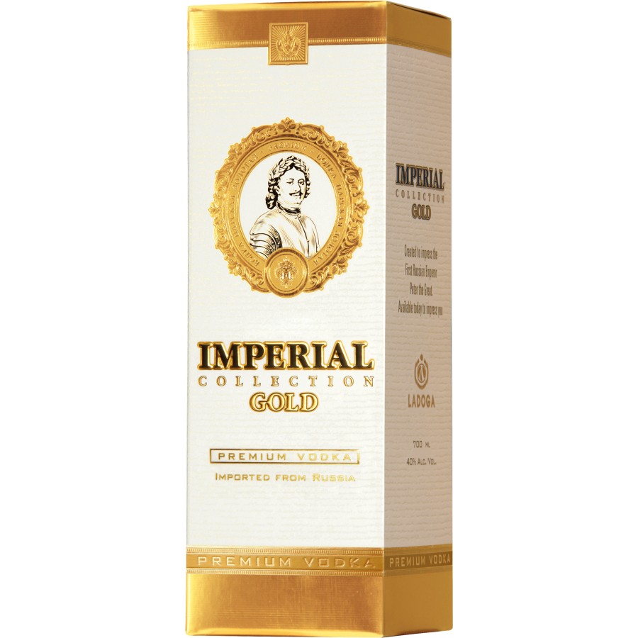 Imperial Collection Gold vodka 6 litrů