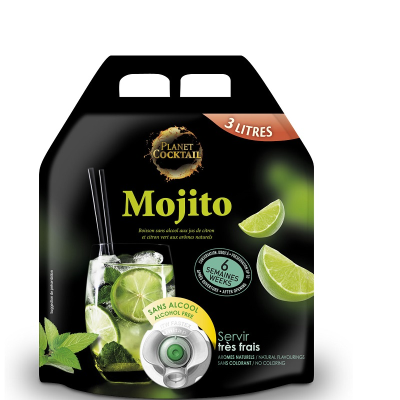 Planet Cocktail Nealko Mojito 3 litry