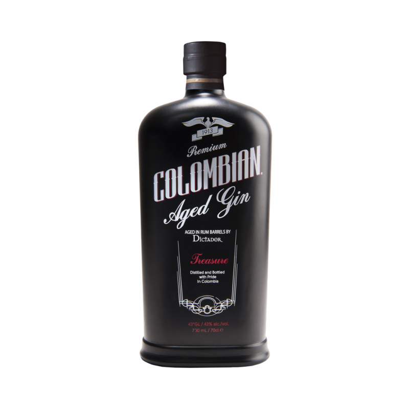 Dictador Premium Colombian Aged Treasure Black gin 0,7