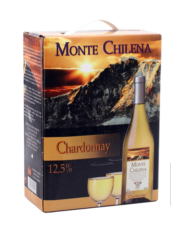 - Chardonnay 3 litry Bag in Box