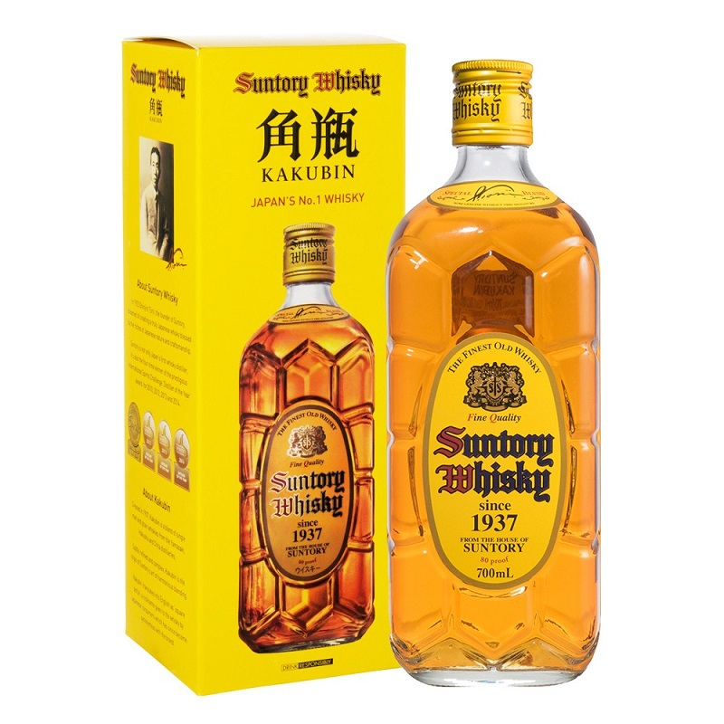 Suntory Kakubin Regular Yellow Blended Japan whisky 0,7l
