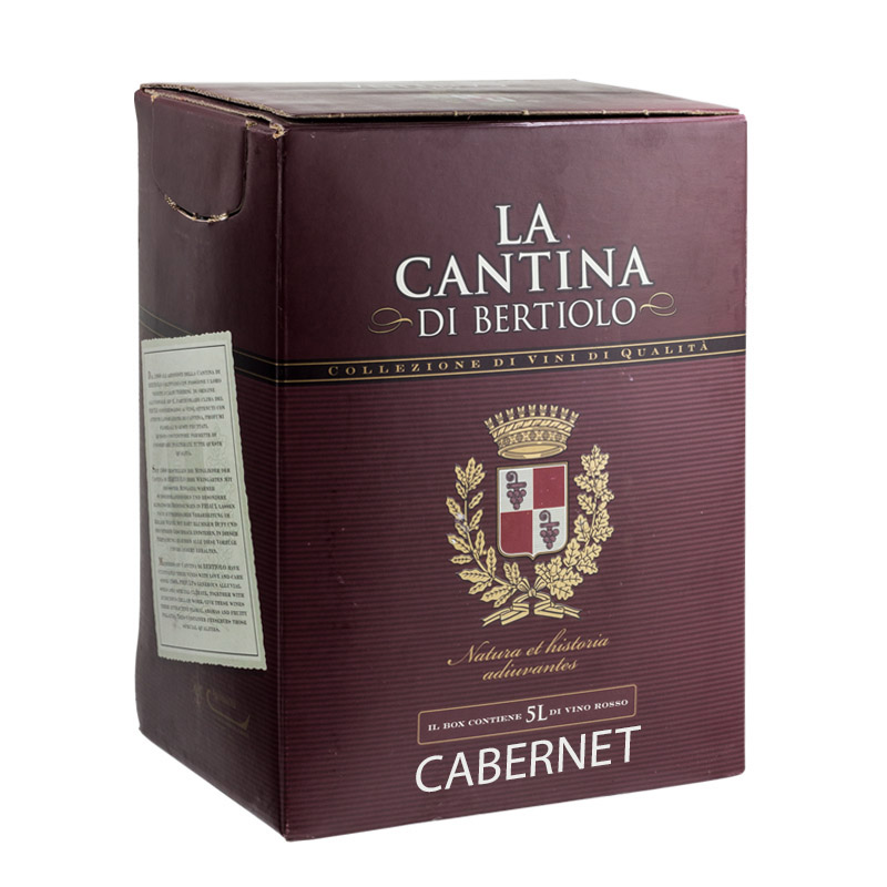 Cabernet IGT Cantina di Bertiolo Bag in Box