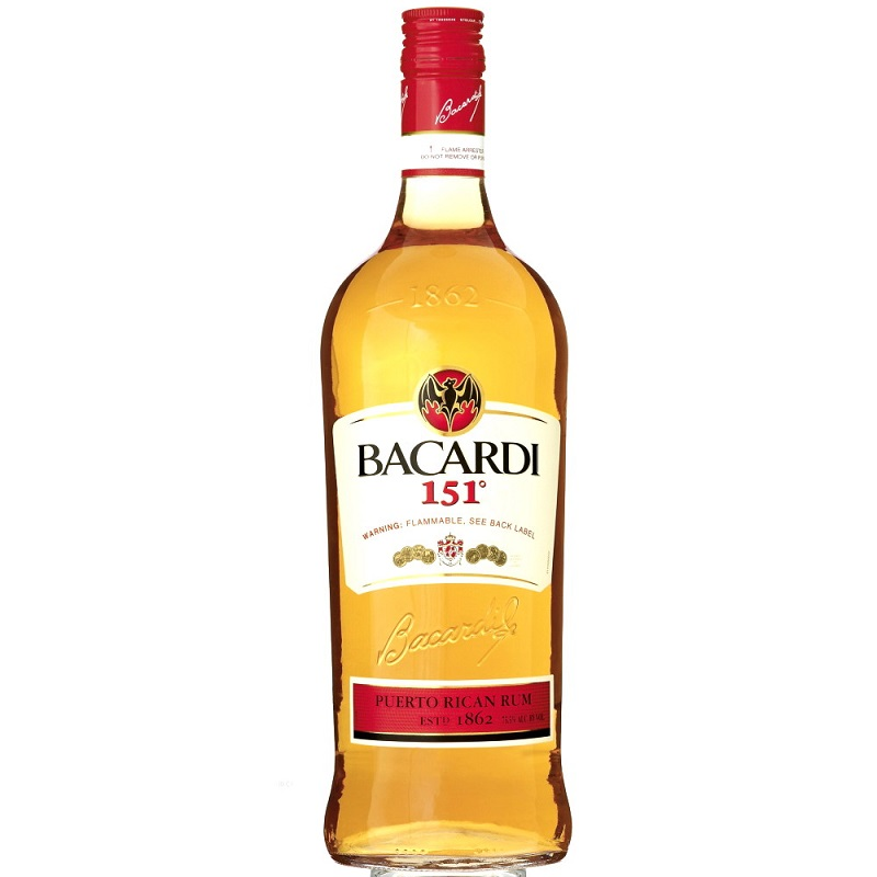 Bacardi 151 proof rum