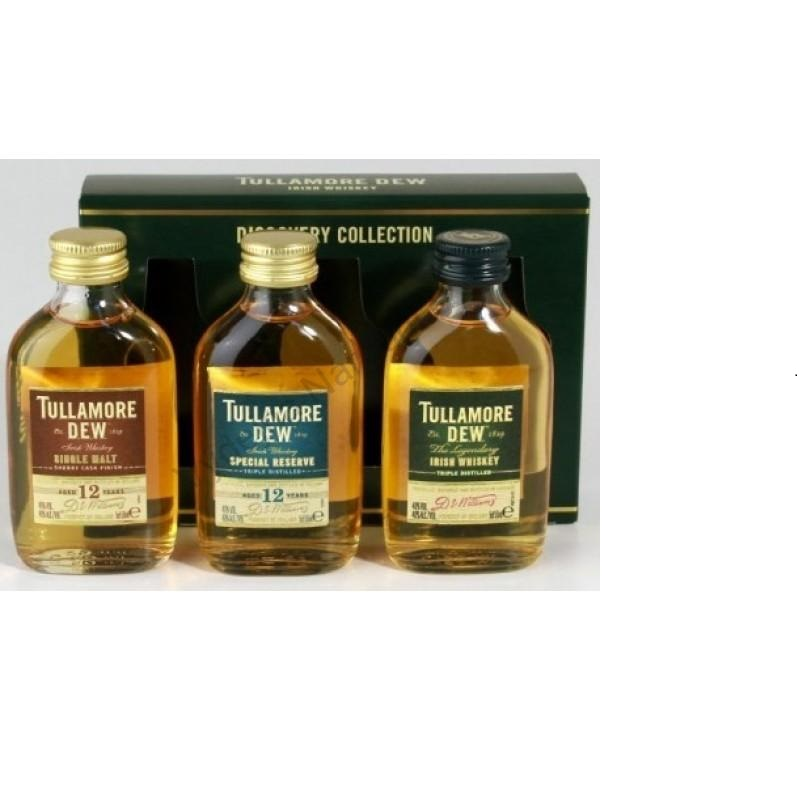 Tullamore Dew Discovery Collection 3 x 0,05l