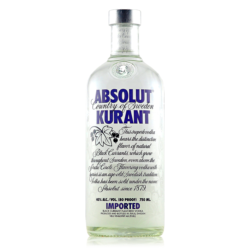 Absolut Kurant vodka 1L