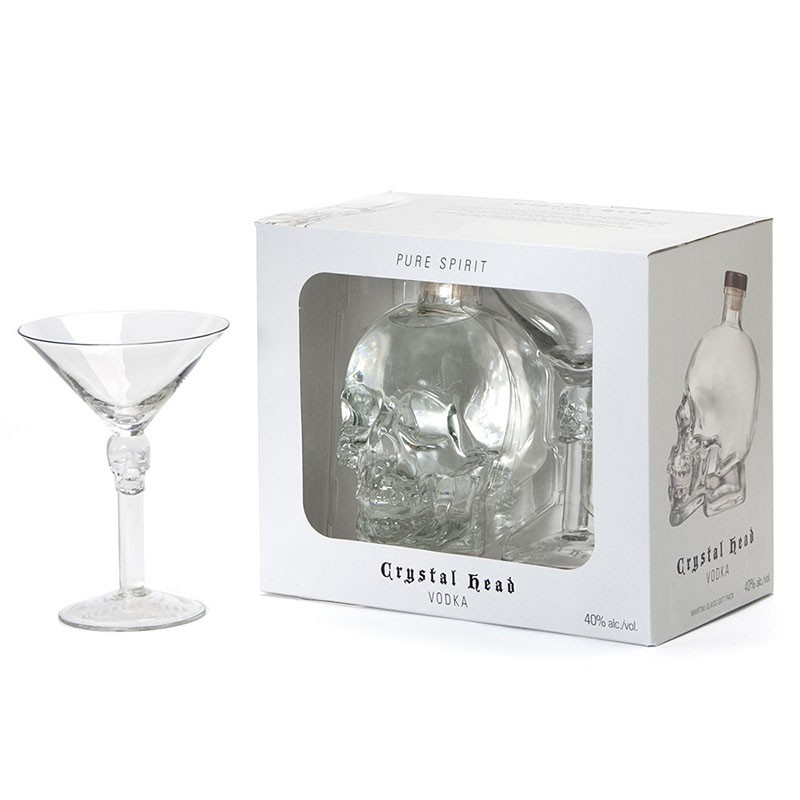 - Crystal Head vodka Gift Box 0,7