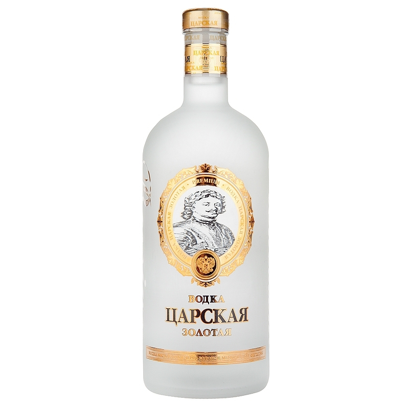 Carskaja Gold vodka 1l