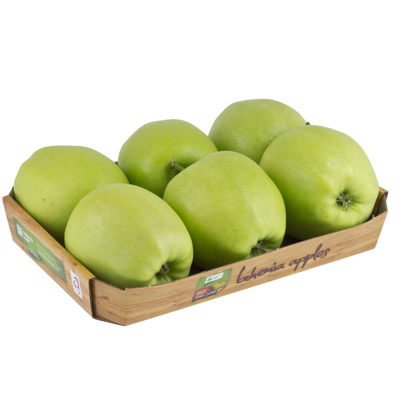 Jablka Golden Delicious tácek 6 ks