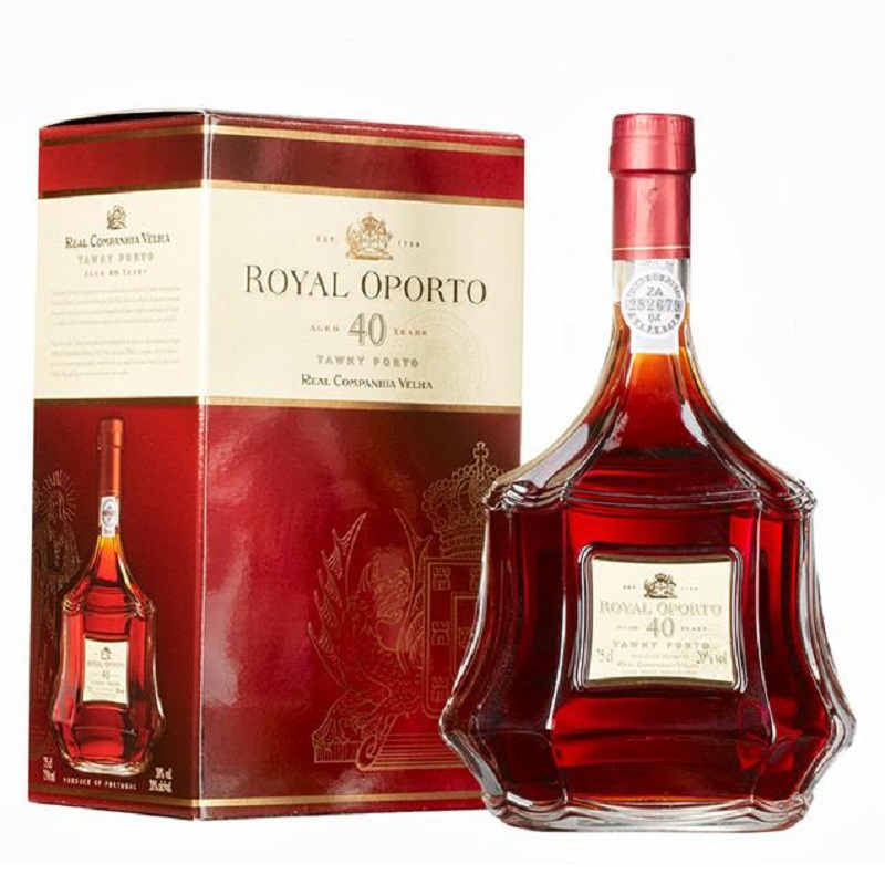 - Dnes Royal Oporto 40 yo Tawny box 0,75l