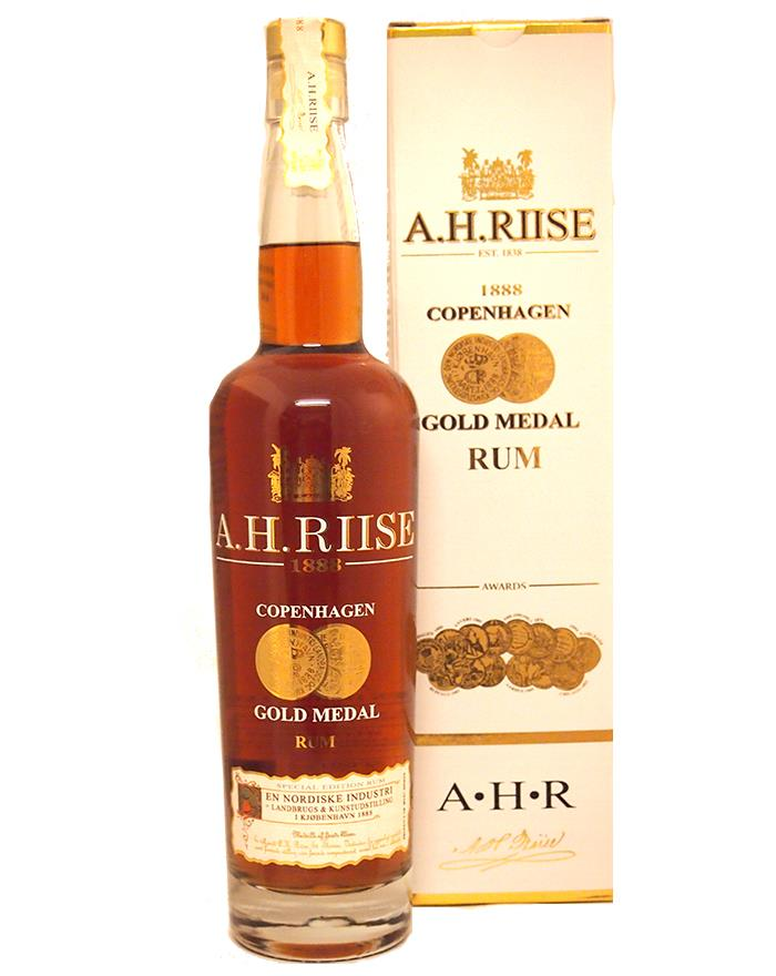 - A. H. Riise Gold Medal rum 0,7l