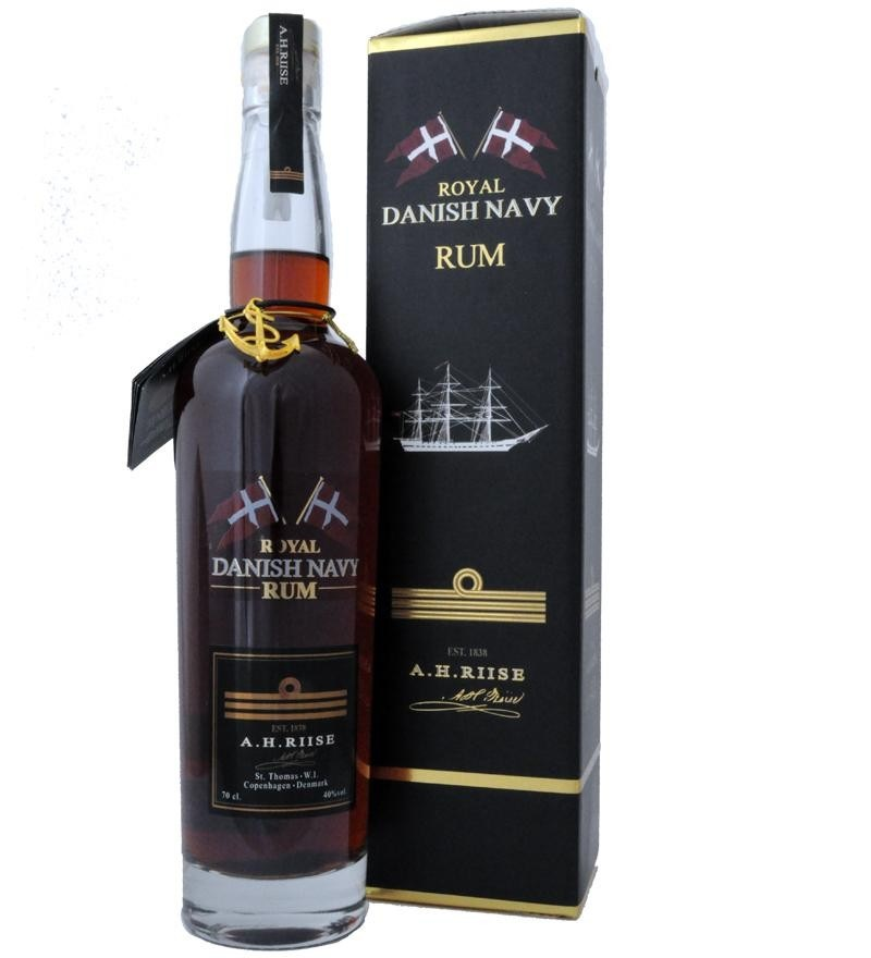 A. H. Riise Royal Danish Navy 40% rum 0,7l