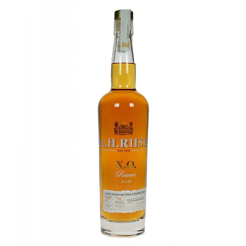 A.H. Riise X.O. Reserve rum 0,7l