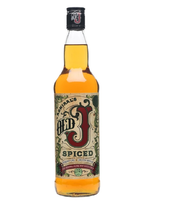 Admiral Vernon's Old J Spiced Rum 0,7