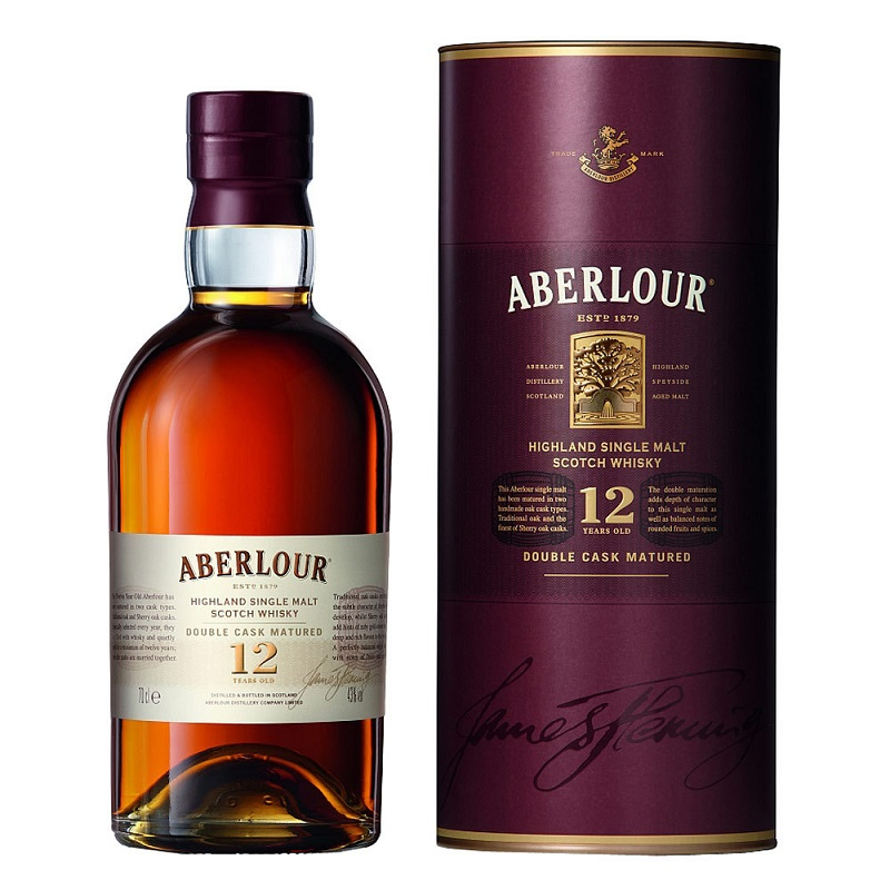 Aberlour 12 Years Old Single malt whisky 1l