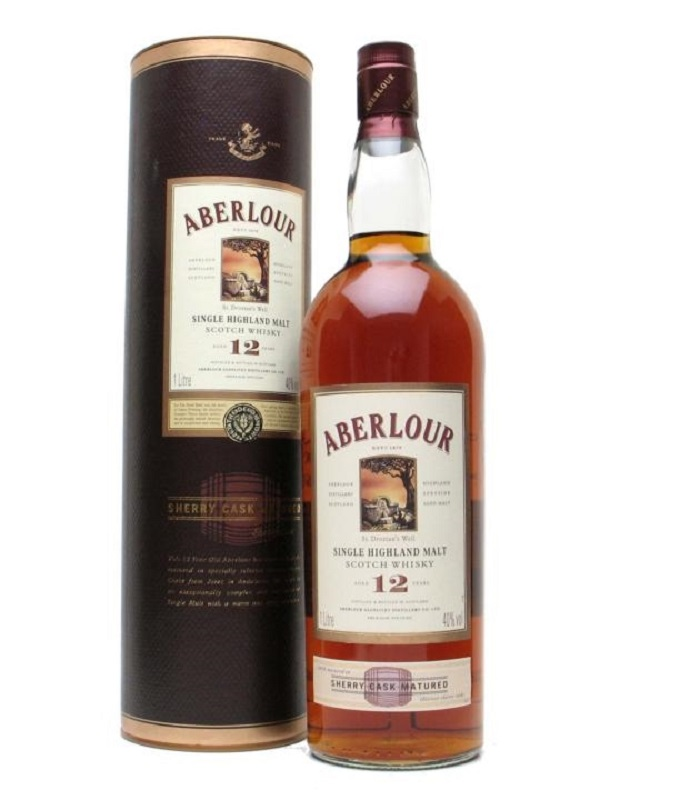 Aberlour 12 Year Sherry Cask Matured whisky
