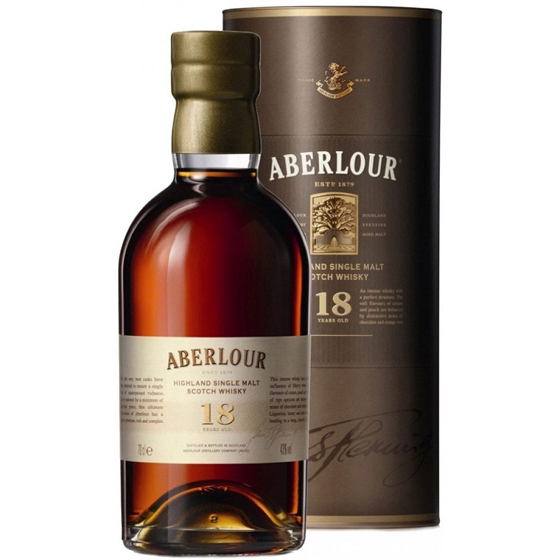 Aberlour 18 Year Old Scotch Whisky 0,7l