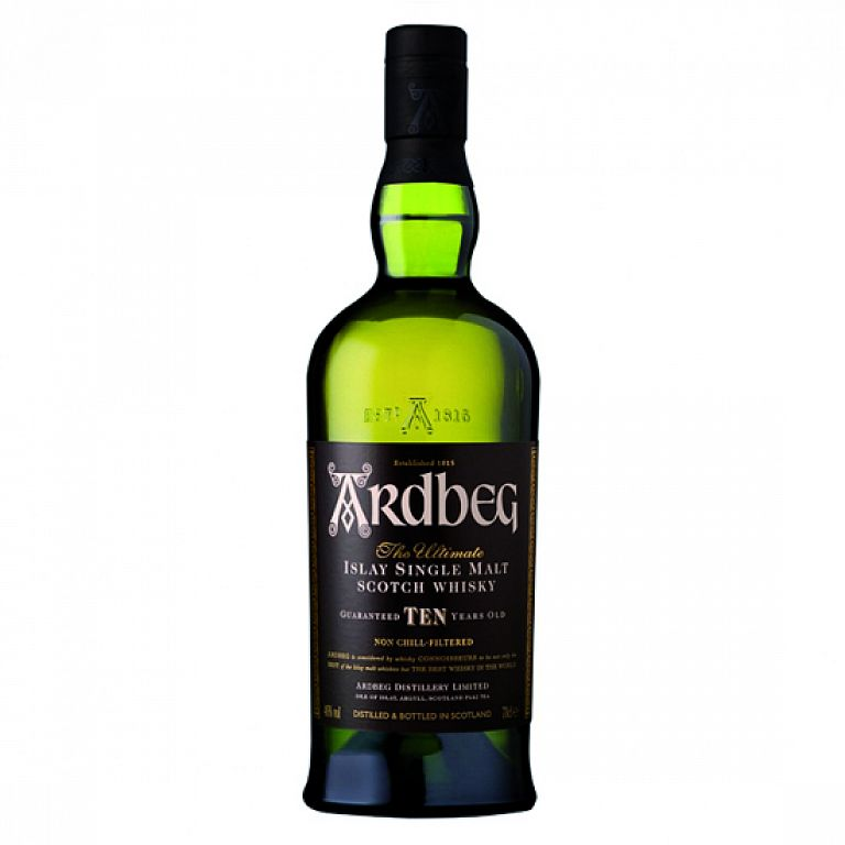 Ardbeg 10 Year Old whisky 0,7