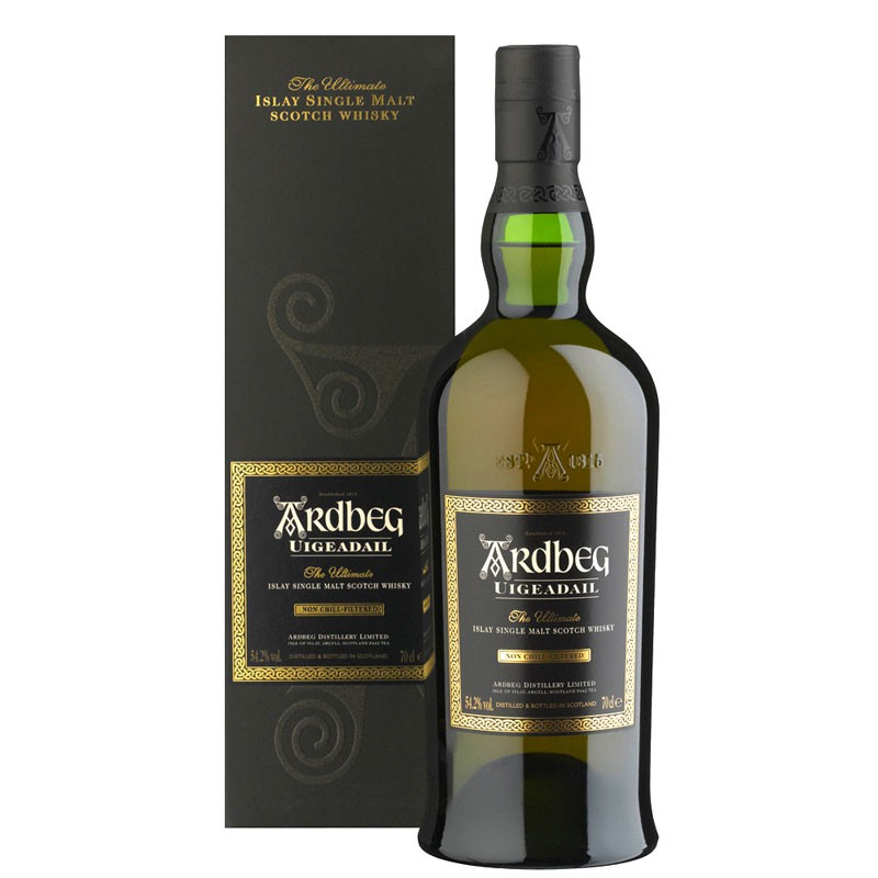 Ardbeg Uigeadail Single Malt whisky 0,7