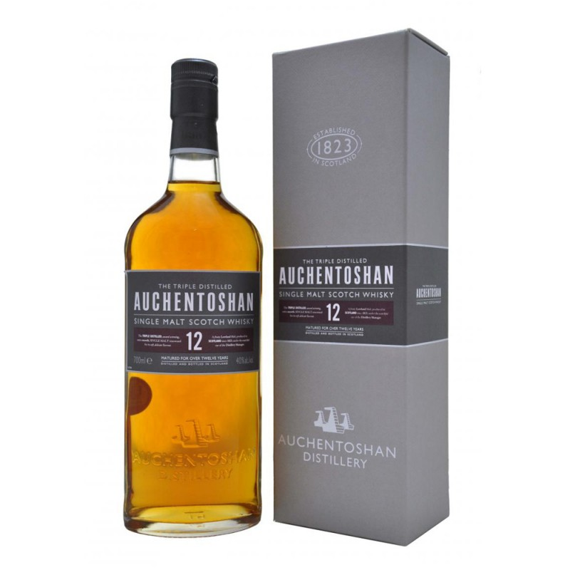 Auchentoshan 12 yo single malt whisky 0,7