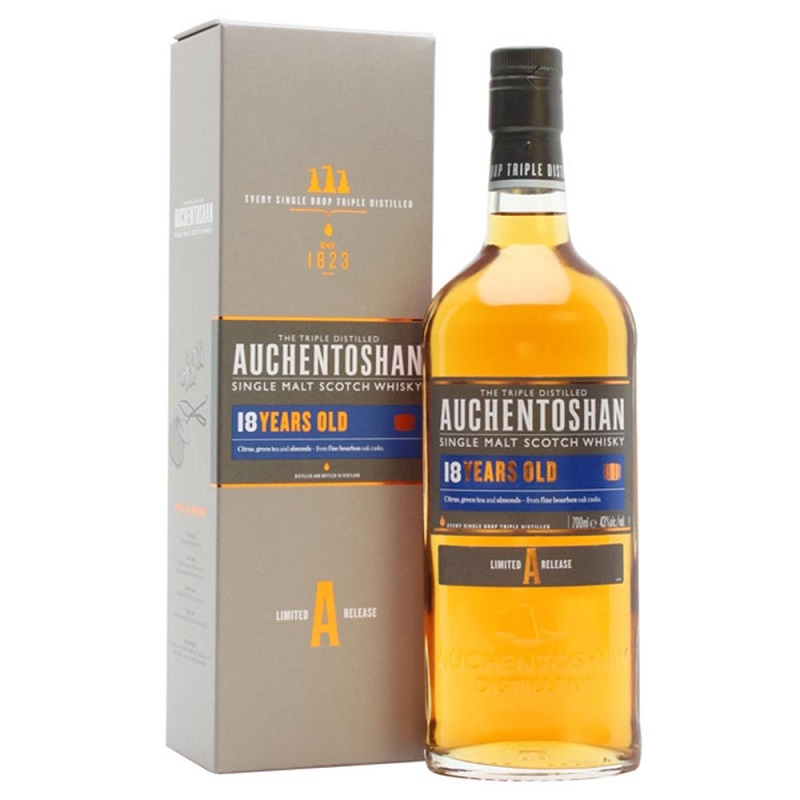 Auchentoshan 18 Year Old Single Malt Scotch whisky 0,7