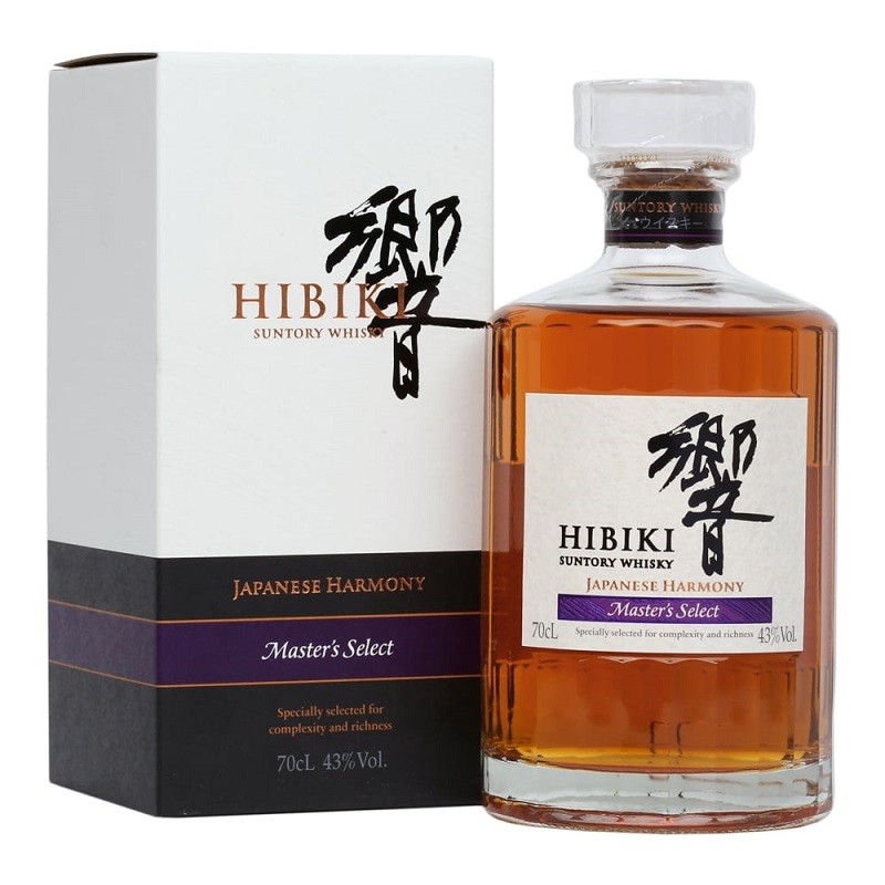 Suntory Hibiki Harmony Japan Blended Masters Select whisky 0,7