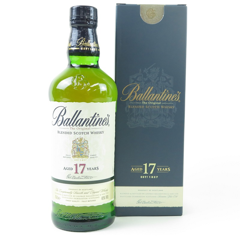 Ballantine's 17 Years Old Premium Blended Scotch whisky 0,7